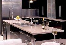 Kitchen / A little bit modern & a little bit classic.