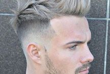Haircut - Pompadour, Hairstyle / pompadour hairstyle man