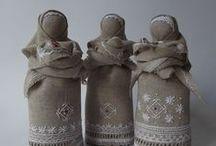 Motanki, słowiańskie lalki - amulety