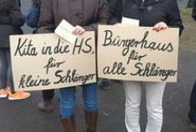 Öffentlicher Protest / Bilder von unseren öffentlichen Veranstaltungen