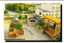 roof garden / روف گاردن-طراحی و مراحل ساخت بام سبز