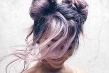 PURPLE HAIR ENVY