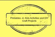 Printables for Kids & Crafts / Printables for learning, coloring, crafts and the home. / by Amber Whitehead