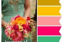 pretty palettes / Colors that work amazing together. I'll use for scrap booking and more.