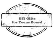 DIY gifts for teens / do it yourself gift ideas for teenagers / by Amber Whitehead