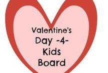 Valentine's Day 4 Kiddos / Valentines crafts and treats / by Amber Whitehead