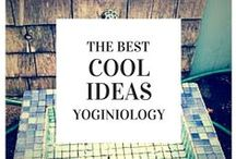 cool ideas {yoginiology} / you're never bored! try one of these (cool) ideas