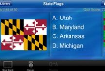 USA Flashcards & Trivia / Traveling this week and stuck in the airport or car? Bring this app along to help pass the time!  USA Flashcards & Trivia makes use of the same technology in gFlash+ and gFlashPro. gFlash is the most popular flashcard application in iTunes and provides a simple interface for learning and testing your knowledge. USA Flashcards & Trivia works without a network connection so it's ready to hit the road with you.