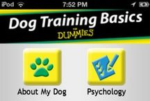 Dog Training Basics for Dummies / Teach your dog to sit, stay, and behave with our Dog Training For Dummies app. A well-trained dog is a happy dog and a very happy owner. From the basic commands to more advanced training, you'll get detailed instructions and lots of insight into what your dog is thinking as well.