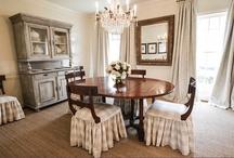 DINING ROOM / dining room decor ideas / by Erin Carroll @ Blue-Eyed Bride