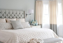 MASTER BEDROOM / Ideas for decorating the master bedroom / by Erin Carroll @ Blue-Eyed Bride