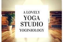 yoga studio love {yoginiology} / yoga studio inspiration. for the studios in our homes and the ones we wish were across the street.