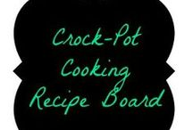 Crock Pot Cooking / Recipes for the Crock Pot / by Amber Whitehead