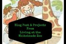 Living At The Whitehead's Zoo  / Family Friendly crafts, recipes, menus,  travel tips, reviews and giveaways. / by Amber Whitehead