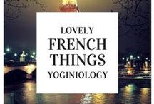 french {yoginiology} / Wouldn't France be a wonderful place for a yoga studio, yoga practice, or yoga retreat? oui! <3