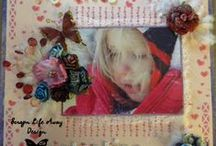 ScrapnLifeAway / http://scrapnlifeaway.blogspot.com/ is my blog where i share my creativity hoping to inspire others to create!   Please stop by and follow my blog! Follow me and spread your creative wings  / by Leslie McGrath