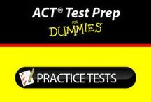 ACT Test Prep For Dummies / The ACT® Test Prep For Dummies App gets you ready for one of the biggest tests of your high school years. And, the more practice you have, the better you'll score. This app features more than 800 practice questions covering critical English, Reading, Science, and Math skills.