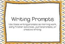 Creative Writing and Dialogue Prompts / by Shell Kolb