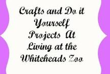 Crafts & DIY by the Zoo / Do It Yourself and Crafts we've made or tried at Living at the Whiteheads Zoo . / by Amber Whitehead