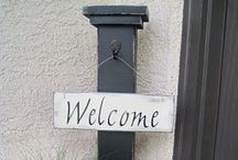 Entry Way / Welcome friend.  / by Jade Illeck