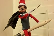 Elf on a shelf - ideas for peppermint / by Jade Illeck