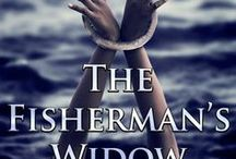"""The Fisherman's Widow / Face-claims and general mood board for #horror #erotica """"The Fisherman's Widow."""" Did my best to source images when I could."""