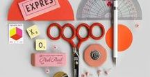 Stationery / Lovely stationery products and photo styling ideas