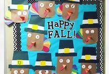 Jennuine November Ideas / Fun classroom activities for November.