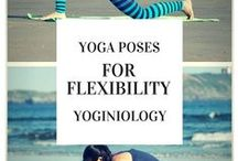 yoga for flexibility {yoginiology} / you don't have to be flexible to practice yoga, but these poses will help you gain flexibility where you want it