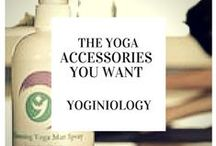 yoga accessories {yoginiology} / we've tried them, we like them. here are the yoga accessories we love (and think you will too!)