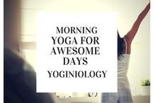 morning yoga {yoginiology} / the best yoga poses and classes for morning yoga - get your day off to an awesome start!