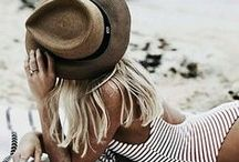 beach inspired fashion / Beach and sea inspired clothing and jewelry, a little bit boho, breezy and relaxed.
