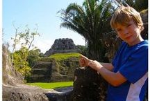 Belize, Central America / Places we visited with our family.