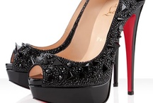 Christian Louboutin heels / Christian Louboutin is one of the most exclusive designers in the world of fashion. His high heels are worldwide appreciated.