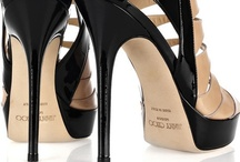 Jimmy Choo heels / Jimmy Choo or better Jimmy Choo Yeang Keat is a fashion designer from Malaysia that produces luxury goods based in London, very famous for its women shoes women hand made by the company Jimmy Choo Ltd. http://www.jimmychoo.com/
