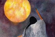 By The Light of the Moon / Gorgeous Moon Art / by Teresa Thorpe