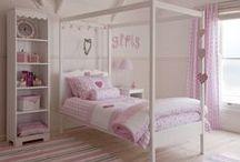 Girls beds & linen