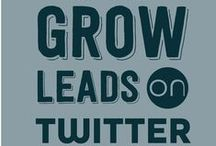 Twitter Tips to Grow Business / Twitter's audience is growing rapidly! Take advantage of this platform and blast your business into success through growing your Twitter audience! How to grow your business on Twitter in under a week...  / by d.science • Branding Blog