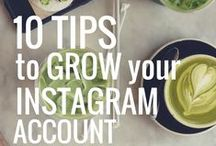 Instagram Tips and Tricks / All the tips and tricks of the trade to crush it on Instagram. Plus awesome resources on how to take amazing photos. / by d.science • Branding Blog