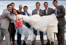 Wedding rainbow story