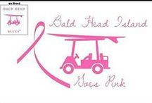 Bald Head Island Goes Pink / Bald Head Island NC goes pink to raise funds for the Susan G. Komen Foundation Race For a Cure.