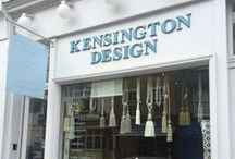 Kensington London - Inspiration & Events / Shops on our street and the wonderful Kensington Area. Design Is Inspired By Everything