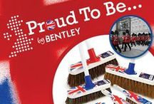 Proud to be... / From the recent Royal Wedding to the forthcoming Olympics and the Queen's Diamond Jubilee, British icons are everywhere at the moment! Perhaps the most iconic of all British symbols is the union flag, its instantly recognised around the world and now this trendy icon is available on a select range of quality Bentley wooden brushware. Celebrating 150 years of British design and manufacturing Bentley are thrilled to launch the NEW eye catching Proud to be… range.