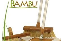 BAMBU / Given its distinctive name it's not surprising that the Bentley Bambu range is manufactured from the highest standard bamboo, a sustainable grass plant that regenerates quickly once harvested. Manufacturing this range with one of the fastest growing plants on earth provides an eco-alternative to regular household cleaning products.