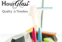 Hour Glass / HourGlass is one of Bentley's first designer ranges, positioned as a modern and fashionable alternative to traditional cleaning equipment.