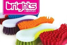Brights by Bentley / Bursting with colour the Bentley Bright's range is a quality collection of the most popular cleaning products. The vibrant selection of appealing shades guarantees that these products catch the consumer's eye in store, frequently utilised for promotions the Bright's range is perfect for generating impulse purchases. As bright cheerful range displaying all 6 colours in one zone will help maximise interest and drive consumer demand.