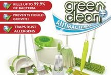 Green+Clean / Every day, cleaning tools such as mops, cloths and brushes are exposed to bacteria and often provide the perfect conditions for bacteria to reproduce. On an unprotected surface, bacteria can double every twenty minutes. Disinfectants are an instant, but short-term solution, and once the treated surface area dries, bacteria can quickly start to grow and reproduce.