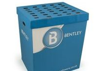 Merchandising / Here at Bentley we have a variety of stands and packaging available....