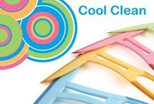 Cool Clean / Cool clean - A range of cleaning products in all your favorite pastel shades.