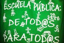 PEDAGOGÍA muy básica... / Abrid escuelas, y se cerrarán cárceles. / by Artearq7